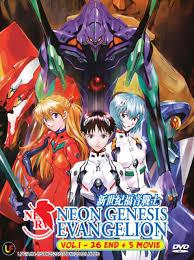neon genesis evangelion. Interesting Evangelion Anime DVD Neon Genesis Evangelion 126 End  5 Movie  On N