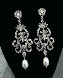 bridal chandelier earrings blush chandelier earrings rose gold chandelier earrings bridal wedding long vintage crystal best bridal chandelier earrings
