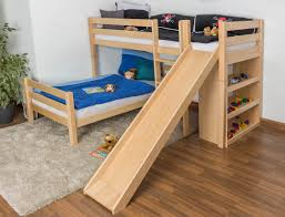 bedroom twin loft plans free bunk diy with stairs slide and drawers queen size staircase