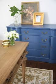 blue office paint colors. Dresser/credenza Painted With Benjamin Moore VanDuesen Blue. One Of The Prettiest Blue Paint Office Colors