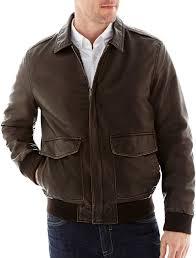 dockers faux leather er jacket