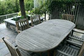 restoring teak furniture or wood refinishing services outdoor patio table protect your silver furnitu