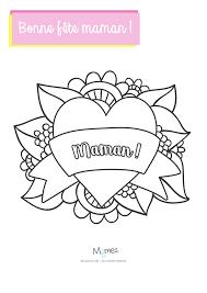 Coloriage Pour Maman Filename Coloring Page Free Printable Orango Coeur A Colorier Pour MamanlL