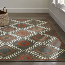 bessie charcoal wool dhurrie rug traditional warm and henna indian wool dhurrie rugs