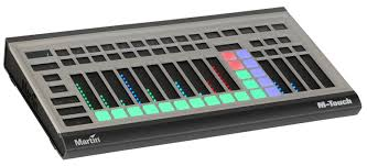 martin m touch 512 channel dmx lighting controller