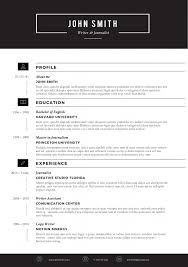 Free Microsoft Word Resume Templates Extraordinary SLEEK Resume Template Trendy Resumes