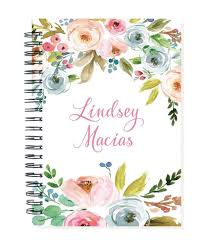 Amazon Com 2019 24 Month Personalized Monthly Planner