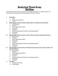 analyzing theme a common core essay for any novel tpt analyzing theme a common core essay for any novel