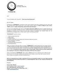 Proposal Letter For Employment Magnificent Proposal Letter With Terms Conditions