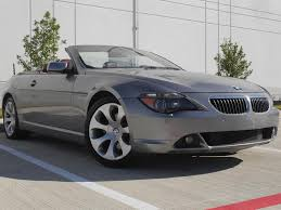 Coupe Series bmw 645 convertible : 2006 BMW 650i Convertible Soft Top