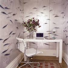wallpapered office home design. Perfect Home Office Home Office Small Wallpaper For Wallpapered Design