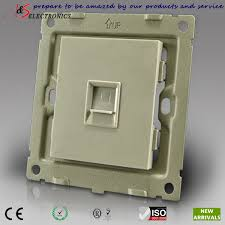 1 gang rj45 cat5e cat6 internet data outlet socket in wall for web 1 gang rj45 cat5e cat6 internet data outlet socket in wall for web cable wiring brushed stainless steel faceplate in circuit breakers from home