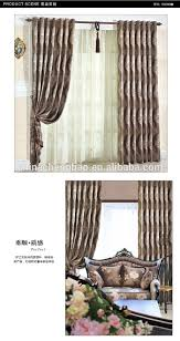 Latest Curtain Design For Living Room Latest Living Room Double Layer Blackout With Lace Curtain Designs