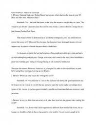 john steinbeck interview transcript essay zoom zoom zoom