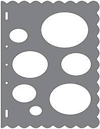Fiskars Shape Templates Scrapbooking Supplies 123stitch Com