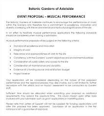 Event Planner Contract Classy Club Proposal Template Entertainment Event Concert Sample Letter For