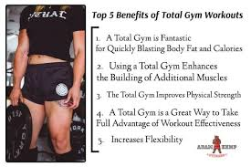 Total Body Gym Workout Chart 5 Benefits Of Total Gym Workouts How To Do A Total Gym Routine