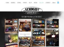 schmidt array pedalboards