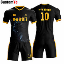 Football Shirt Designs Us 26 98 Customized Your Own Design Sublimation Printing Soccer Uniform Pieces Boy Football Jersey On Aliexpress