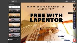 how to create your first 360 virtual tour for free with lapentor
