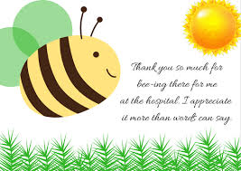 Thank You Note After Funeral To Coworkers Thank You Note Wording For Hospital Visit