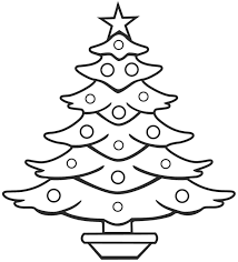 Free Christmas Tree Line Drawing Download Free Clip Art Free Clip
