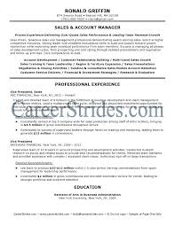 Account Management Resume Sales Account Manager Resume Account ...