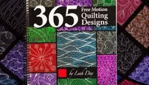 Free Motion Quilting 101 - & 365 Free Motion Quilt Designs Adamdwight.com