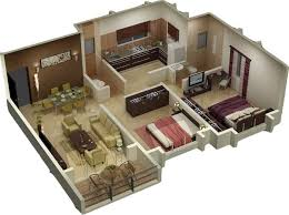 Small Picture Basement Floor Plans With Stairs In Middle Southern Living House