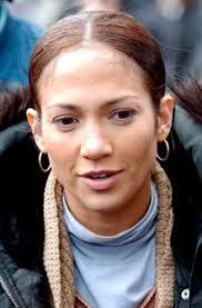 celebrities without makeup jennifer lopez