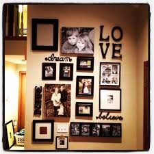 Scenic Family Photo Display Collage Ideas In Quotes Also Black Wooden Frame  in Picture Collage Ideas
