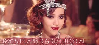 new tutorial gatsby 1920s flapper to watch