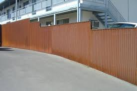 install corrugated metal privacy fence fences with well made decorating doors and design decorati