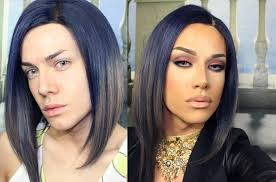 full drag makeup transformation before after