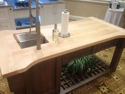 maple wood counter in indianapolis