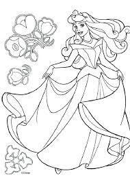 coloring pages from disney princesses on princess coloring pages free printable colouring
