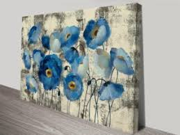 pictures of flowers prints on canvas floral wall art home decor australia on floral wall art australia with aquamarine floral canvas wall art floral art pinterest