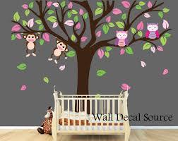 large nursery tree wall decal nursery