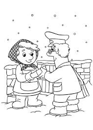 Small Picture Postman Pat Still Deliver Mail In Snow Weather Coloring Pages