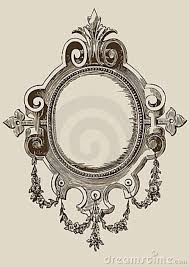 Antique Handheld Mirror Tattoo Mirror Designs