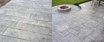 best stamped concrete patio ideas
