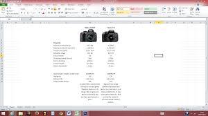 Nikon D3100 Vs T3i Comparison Chart The Camera Guide