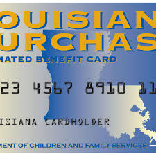 If You Receive Food Stamps In Louisiana Heads Up April
