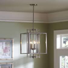 modern pendant light black steel cage round cloth wire us er