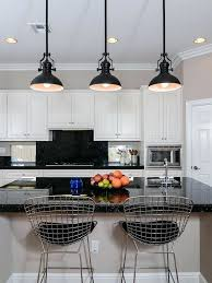 pendant lamp designer white kitchen black