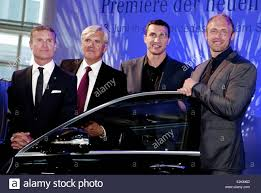 new car launches of 2013David Coulthard Walter Mueller Vladimir Klitschko and Robert
