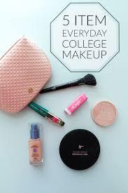 everyday college makeup