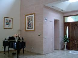 residential interior faux concrete block wall all pro painting walls finish made to look like