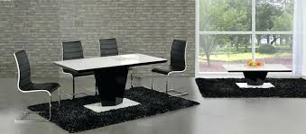 white high gloss kitchen table swish black high gloss white glass designer dining table only or