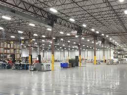 client lighting retrofit photos led t5 high bay lighting led high bay warehouse lighting upgrade chalkartfo